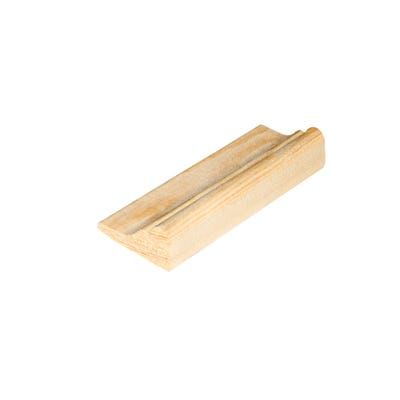 32mm x 15mm Richard Burbidge Pine Broken Ogee Moulding 2400mm FB343 Pack of 10