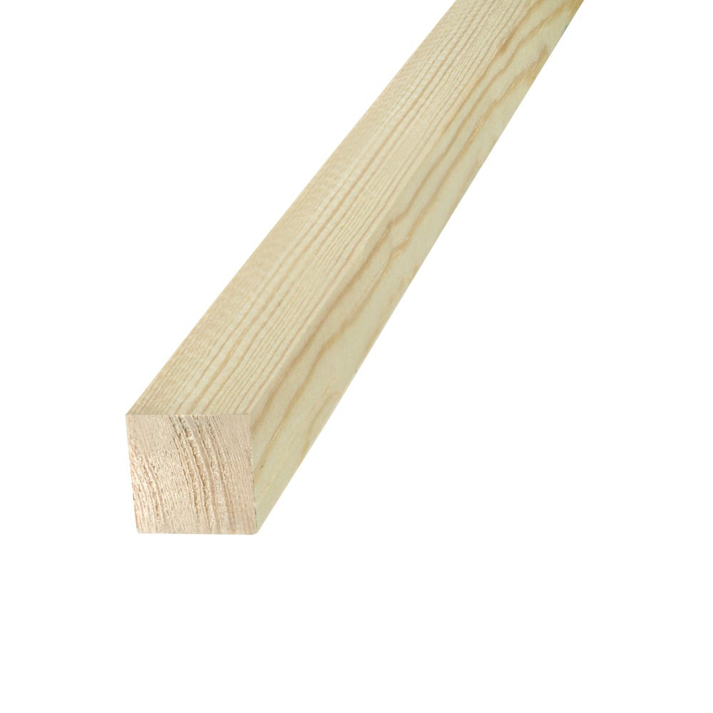 2400mm x 27mm Richard Burbidge Decorative Pine Reeded Dowels Designed of Joining Two Pieces of Wood Together