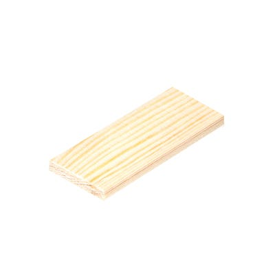 46mm x 4mm Richard Burbidge Pine Stripwood 2400mm FB412 Pack of 6