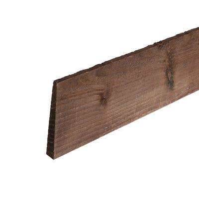 6' x 4'' Treated Timber Feather Edge Board