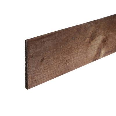 6' x 6'' Treated Timber Feather Edge Board