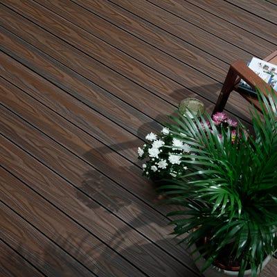 22.5mm x 143mm HD DUAL Deck Walnut/ Oak 3600mm