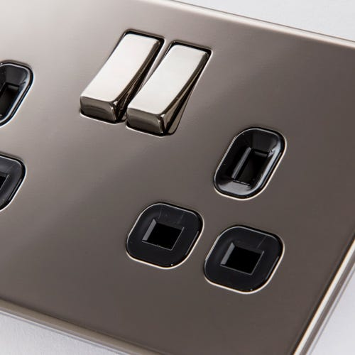 Black Nickel Switches & Sockets