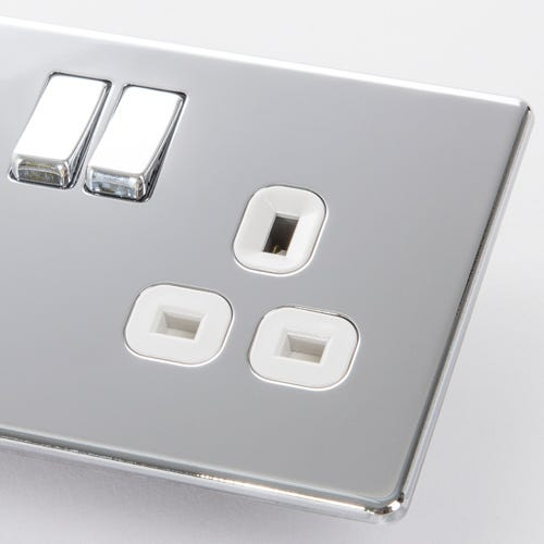Polished Chrome Switches & Sockets